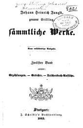 Johann Heinrich Jung's, genannt Stilling, sämmtliche werke: Band 12