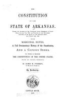The Constitution of the State of Arkansas PDF