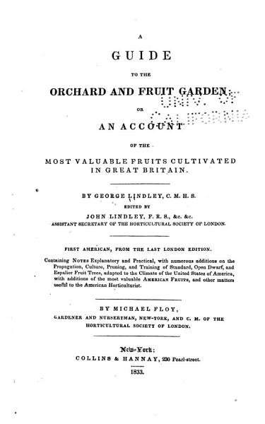 Download A Guide to the Orchard and Fruit Garden Book