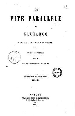 Le vite parallele di Plutarco versione di Girolamo Pompei PDF