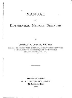 Manual of Differential Medical Diagnosis PDF