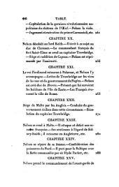 Vie d'Horace Nelson: commendeur en chef des flottes britanniques...