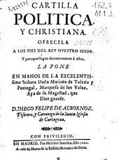 Cartilla politica y christiana ...