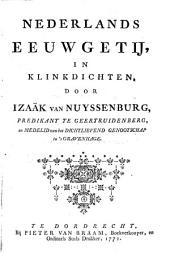 Nederlands eeuwgetij, in klinkdichten