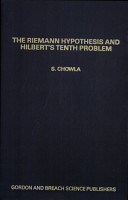 The Riemann Hypothesis and Hilbert s Tenth Problem PDF