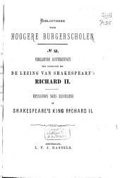 Explanatory Notes Illustrative of Shakespeare's King Richard II
