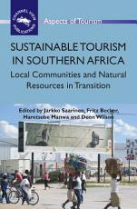 Sustainable Tourism in Southern Africa PDF