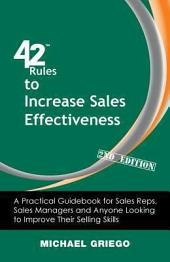 42 Rules to Increase Sales Effectiveness