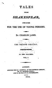Tales from Shakespear: Designed for the Use of Young Persons, Volume 1