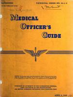 Medical Officer s Guide PDF