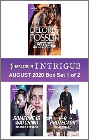 Harlequin Intrigue August 2020   Box Set 1 of 2 PDF