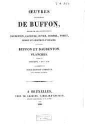 Oeuvres complètes de Buffon, suivies de ses continuateurs Daubenton, Lacépède, Cuvier, Duméril, Poiret, Lesson et Geoffroy-St-Hilaire: Volume19