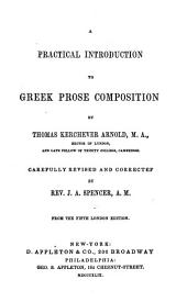 Practical Introd. to Greek Prose Composition ..