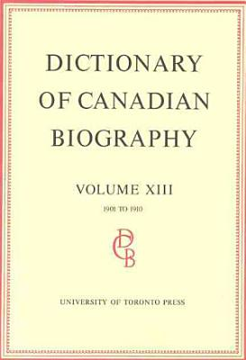 Dictionary of Canadian Biography