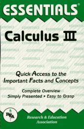 Calculus III Essentials