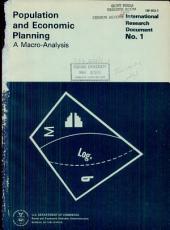 Population and Economic Planning: A Macro-analysis