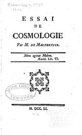 Essai de cosmologie