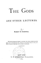 The Gods: And Other Lectures