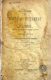 Synonymes du Nouveau Testament par R. C. Trench