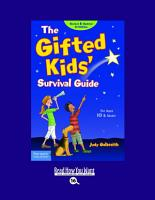 The Gifted Kids  Survival Guide PDF