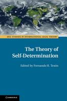 The Theory of Self Determination PDF