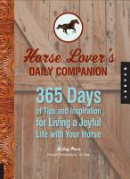 Horse Lover s Daily Companion PDF