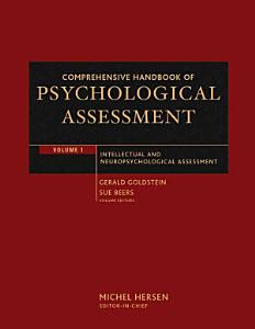 Comprehensive Handbook of Psychological Assessment  Volume 1 Book