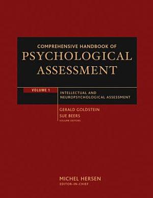 Comprehensive Handbook of Psychological Assessment  Volume 1