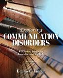 Exploring Communication Disorders Book PDF