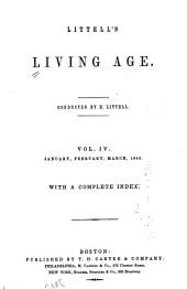 Littell's Living Age: Volume 4
