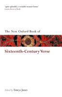 The New Oxford Book of Sixteenth Century Verse PDF