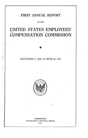Annual Report of the United States Employees  Compensation Commission PDF