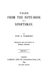 Tales from the Note-book of a Sportsman
