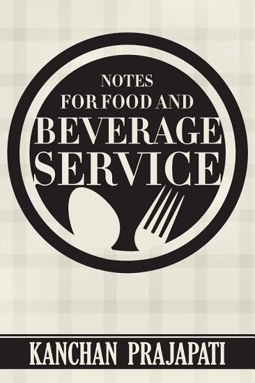 Notes for Food and Beverage Service PDF