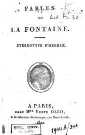 Fables /de La Fontaine, Jean