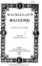 Macmillan's Magazine: Volume 3