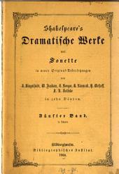Shakespeare: in deutscher Uebersetzung. Romeo und Julie. Der Kaufmann von Venedig. Ende gut, Alles gut. Der Walpurgisnachtstraum, Band 5