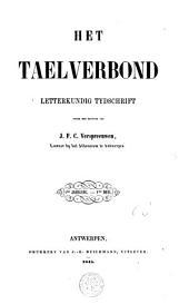 Het taelverbond: letterkundig tijdschrift, Volumes 1-2