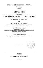 Discours sur l'archéologie en Afrique du Nord depuis la conquête de l'Algérie