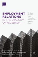 Employment Relations in the Shadow of Recession PDF