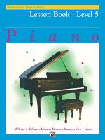 Alfred s Basic Piano Library   Lesson 5 PDF