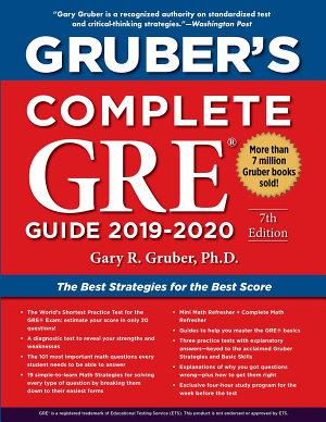 Gruber s Complete GRE Guide 2019 2020
