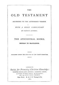 The Old Testament   According to the Authorized Version  The Pentateuch PDF