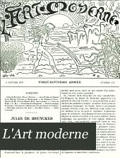 L'Art moderne: Volume27