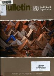 Bulletin Of The World Health Organization Book PDF