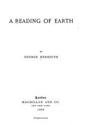 A Reading of Earth