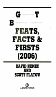 Great Baseball Feats  Facts  and Firsts PDF