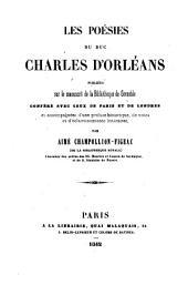 Les poésies du duc Charles d'Orléans