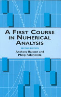 A First Course in Numerical Analysis PDF