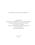 Towards Dependable Robotic Perception